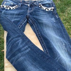 Sz 28 skinny jeans